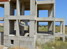 House under construction for sale in Kardamena, Kos.