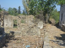 Plot with building for sale in Asomatos, Kos. It is a plot of land and has a stone built residence of 36sq.m. It is sold at a price of 30,000 €..