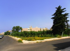 Land for sale in the town of Kos.