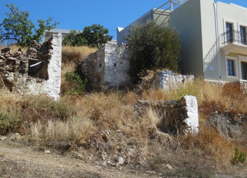 Land with building for sale in Asomatos Kos.