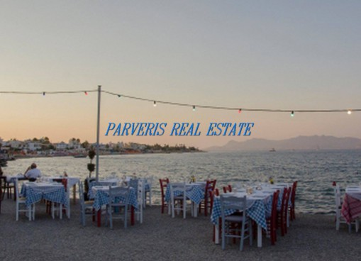 A beachfront restaurant for sale in the city of Kos.